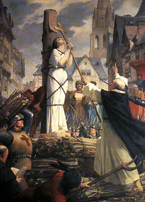 Joan of Arc Heroine France French  7x5 Inch Print