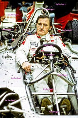 Graham Hill Embassy Hill F1 Portrait Photograph 3