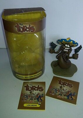 The Turds Arse Bandit Special Edition Figurine Statue Boxed Log Book Certificate