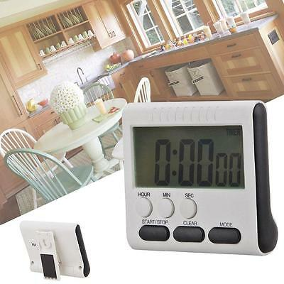 1pcs Large LCD Digital Kitchen Cooking Timer Count-Down Up Clock Loud Alarm SN