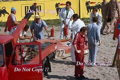 Jochen Rindt Gold Leaf Team Lotus 72C Italian Grand Prix 1970 Photograph