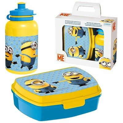 Despicable Me 2 - Minion Caja Merienda Rectangular & Botella Deportes