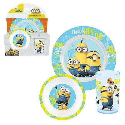 Despicable Me 2 - Melamine Dinnerware Set Breakfast Minion 3 Pieces