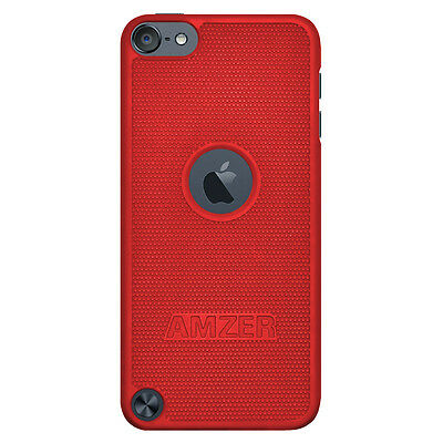 Amzer Snap On Case - Red For Apple iPod Touch 6th Gen 5th Gen