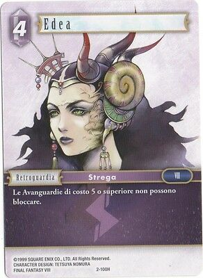 Final Fantasy TCG Edea Opus 2 2-100H Italiano