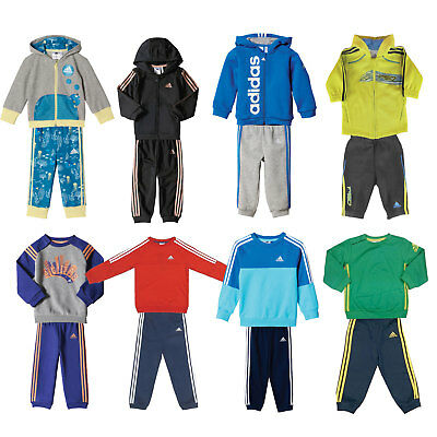 adidas Performance Baby-Jogger Jungen-Trainingsanzug Kinder-Jogginganzug Set