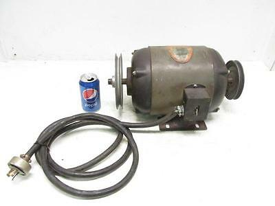1 HP Delta Repulsion-Induction Electric Motor 110/220 Volt 1725 RPM 1 Phase
