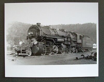 Nyc New York Central System 2-6-6-2 #1354 Steam Locomotive 8X10 B&w Photo