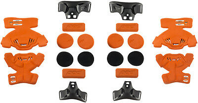 Pod K1 Youth Knee Brace Conversion Kit Large Pair Orange Black
