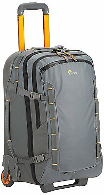 Lowepro Highline Roller Case X400 Grey Weather Resistant Suitcase Padded