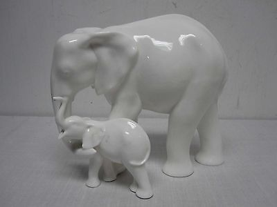 Rare Royal Doulton Adrian Hughes Images Of Nature Motherhood Elephant Hn3463