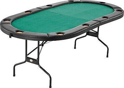 Fat Cat Folding Texas Hold'Em Card Game Table