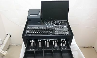 Full Portable Cash Register Point Of Sale   Barcode Scanner Basic POS Software