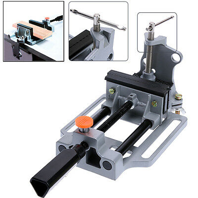 Aluminum Alloy Flat Bench Drill Press Milling Vise Holder Clamping Bench Mount