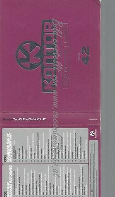 Cd--Various--Kontor Top Of The Clubs Vol.42 | Box-Set