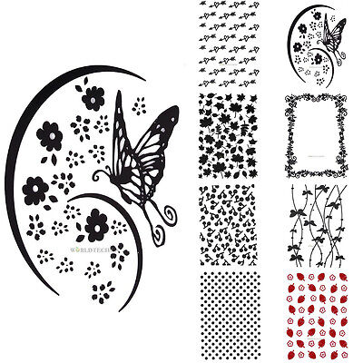 Plastic Embossing Folder Template DIY Scrapbook Paper Craft Papercraft Decor HOT