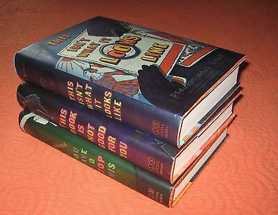 Lot of 3~PSEUDONYMOUS BOSCH Books~Secret Series~Hardcover~FREE SHIPPING
