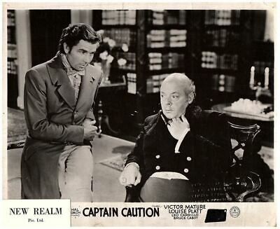 Captain Caution Original British Lobby Card 1940 Victor Mature Leo Carillo