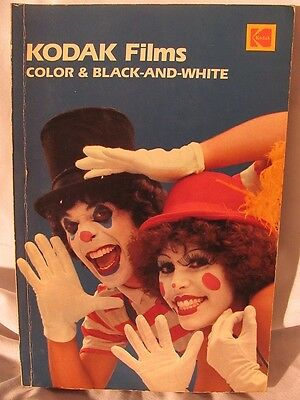 Kodak Films : Color and Black-And-White No. 1 (1981, Paperback)