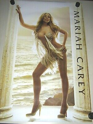 """Mariah Carey - Promo Poster - Exc. New cond. / 22 1/4 x 34 1/2"""""""