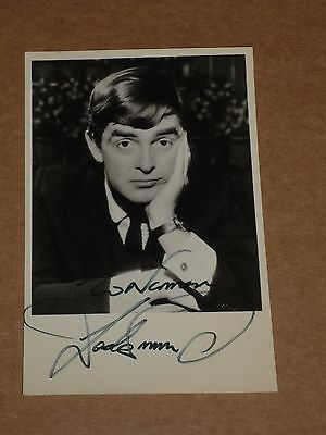 Derek Nimmo 5 x 3 early 1970s Agency Publicity Photo (Hand Signed)