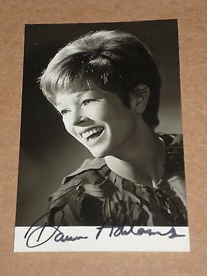 Dawn Addams (Hammer Films) 5 x 3 late 1960s Agency Publicity Photo (Hand Signed)