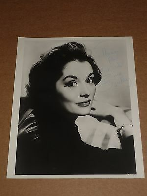 Barbara Shelley (Hammer Films) 10 x 8 late 1960s Agency Photo (Hand Signed)