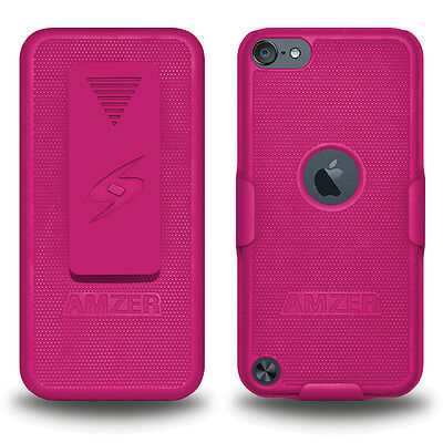 Amzer Shellster - Hot Pink For Apple iPod Touch 6th Gen 5th Gen