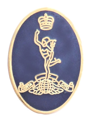 British Army Royal Corps of Signals Oval Pin Badge - MOD Approved - 1905