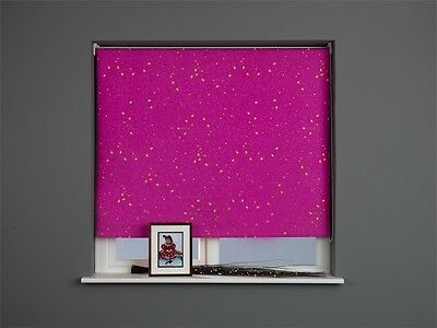 Sunlover THERMAL BLACKOUT Roller Blinds. Princess Pink. Widths 60cm -120cm