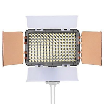 Neewer OE-160 160 Piece 5600K LED Barndoor On Camera Video Light for Canon Nikon
