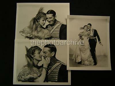 Jeanette MacDonald Maurice Chevalier Merry Widow 3 Movie PHOTO LOT 461D