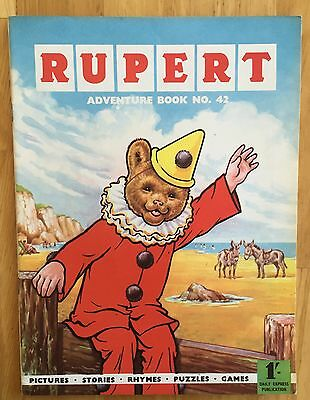 Rupert Adventure Series 42 Bestall 1960 All Puzzles Untouched Fine Plus
