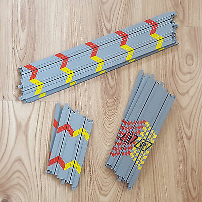 My First Scalextric Track Extension Lot - 2 Long, 2 Short, 3 Medium Straights