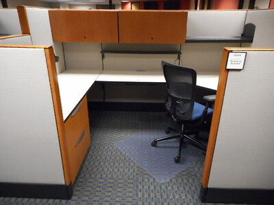 Used Cubicles, Haworth Office Furniture 6x9