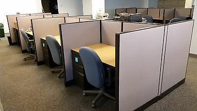 Used Office Cubicles, Trendway Office Furniture
