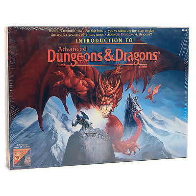 TSR 1995 Introduction To Advanced Dungeons & Dragons Game & CD Sealed New # 1135