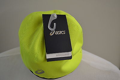 Asics Winter Beanie 108505 0392 Hat yellow