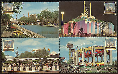 Lot Of 10 Unused Post Card From 1964 New York World's Fair