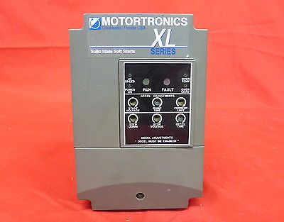 Motortronics Xlc-3-N Xl Series Soft Start 7.5Hp 11A 480Vac 3Ø (2D2)
