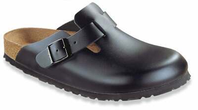 separation shoes a8358 3c81f BIRKENSTOCK BOSTON CLOGS Velours Leder Weichfußbett SFB port ...