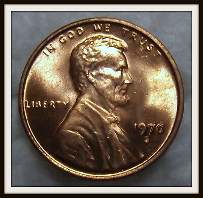 1970-S 1C Small Date RD Lincoln Cent (BU) Lot #8