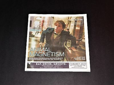 Neon Magazine Eddie Redmayne Fantastic Beasts and Where To Find Them Issue NEW