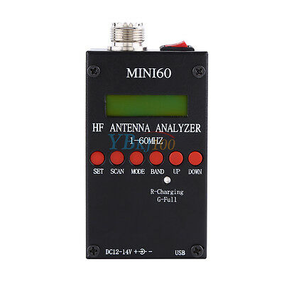 Sark100 HF Mini60 Bluetooth Android Analizzatore d'antenna SWR 1 - 60 MHz