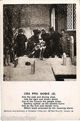 Ora Pro Nobis (2), Bamforth RP song postcard, unposted