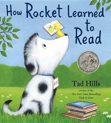 How Rocket Learned to Read by Tad Hills (English) Hardcover Book Free Shipping!