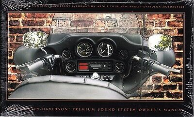 2001 Harley Premium Stereo Sound System Owner's Owners Owner Manual NEW 99464-01