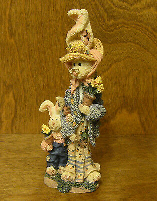 Boyds Folkstones #2843 Flora & Amelia...The Gardeners, NIB From our Retail Store