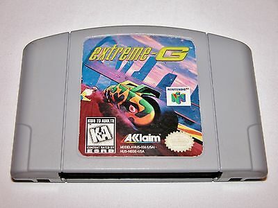 Extreme G Game For Nintendo 64 N64 System Extreme G Bikes Tested