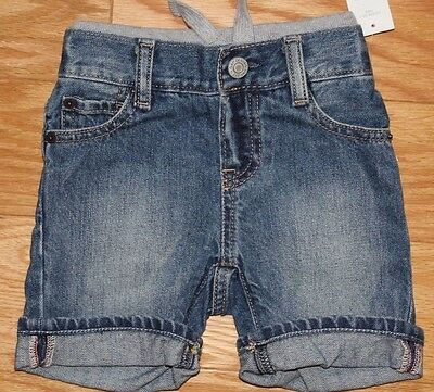 baby Gap boys pull on Jeans-Shorts 18-24mo